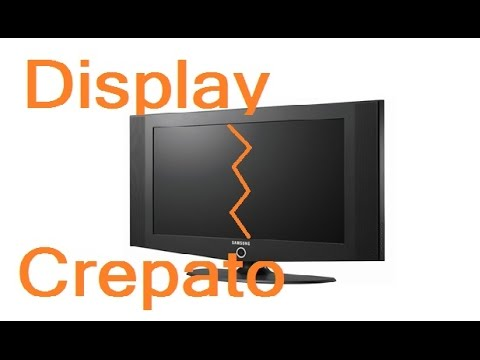 Sostituzione display su tv lcd Samsung by Paolo Brada DIY
