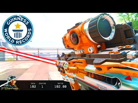 WORLD RECORD 102 KILLS TDM in Black Ops 4... (COD BO4)