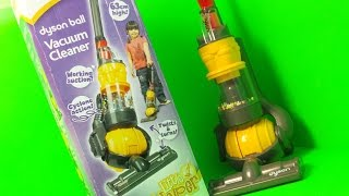 REAL WORKING CASDON DYSON BALL VACUUM CLEANER TOY UNBOXING AND REVIEW