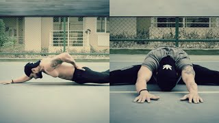 My bodyweight calisthenics@explosive motivational workout