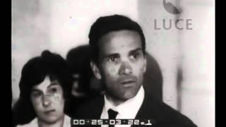 Pasolini prepara il suo esordio come regista. Archivio Luce, filmato (1961)