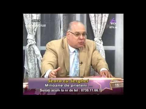 Seara cu Serghei - Marius Marinescu (16 aprilie 2013) 6TV part.1