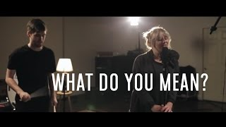 """""""What Do You Mean?"""" - Justin Bieber (Max Wrye feat. Kayla Loren ONE TAKE COVER)"""