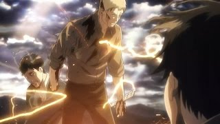 Attack On Titan Reiner And Berthold's Transformation - HD 1080p60 [Shingeki No Kyojin] 60FPS