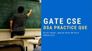 Data Structures MCQs | GATE, NTA NET, ISRO, BARC & For ALL CS/IT Exams | DSA
