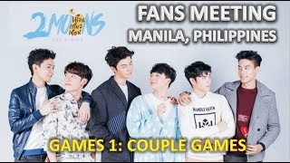 Fans Meet 2Moons at Manila (Games Couple Session)