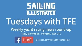 Tuesday with TFE: Watch a replay of today's live show covering the ROLEX Fastnet, Dennis Conner&