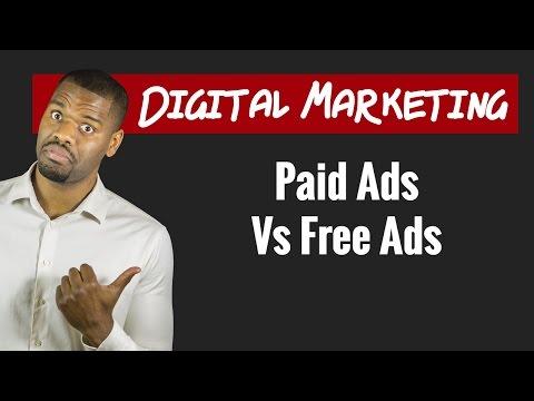 Digital Marketing: Paid Ads vs Free Ads