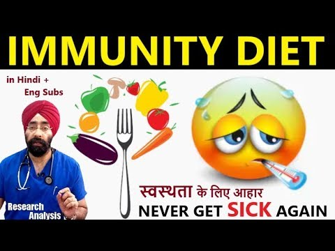 IMMUNITY DIET | Best Food to Boost your Immune System | Dr.Education (Hindi)
