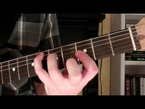 How To Play the Ebmaj7 Chord On Guitar (E flat major seventh) 7th