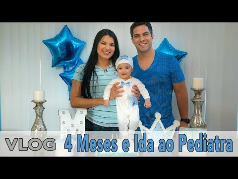 4 Meses do Michael e Ida a Pediatra | VLOG