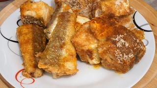 Хек в духовке/как пожарить рыбу  без запаха/Hake roasted in the oven