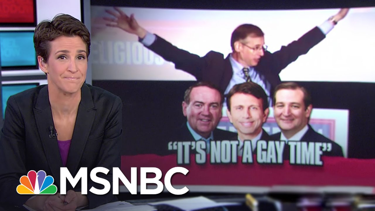 GOP Hopefuls Speak At Anti-Gay Conference | Rachel Maddow | MSNBC thumbnail