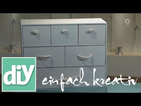Neue Griffe für kleine Schubladen | DIY einfach kreativ