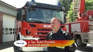 preview picture of video 'Dzień Strażaka w JRG Świętochłowice 11.05.2012'