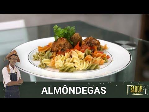Receita de Almôndegas do chef Rivandro França do Sabor da Gente