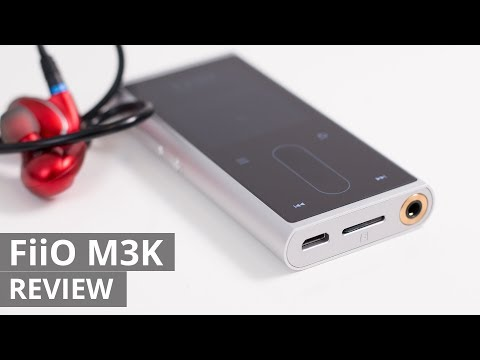 FiiO M3K Hi-RES portable audio player REVIEW – WAV/MP3/FLAC/DSD
