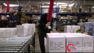 Palletizing - Moving Parcels from Conveyor to Pallet - using Vaculex TP