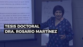 Cómo Hacer Una Tesis Doctoral - Dra. Rosario Martínez