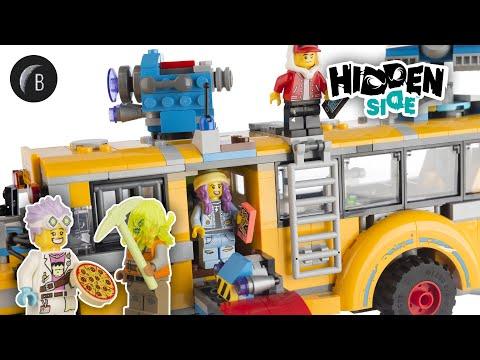 Vidéo LEGO Hidden Side 70423 : Le bus scolaire paranormal