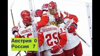 Разбор матча Австрия Россия 0-7 ЧМ 2018 хоккей