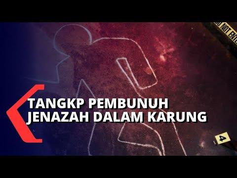 polisi tangkap pelaku pembunuhan jenazah dalam karung