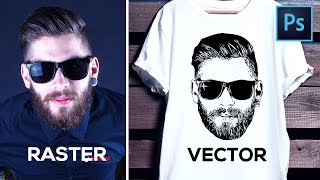 How to Convert Raster Image into Vector in Photoshop
