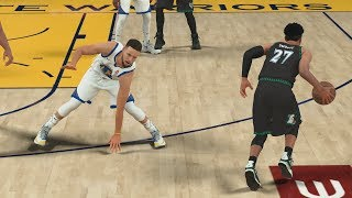 NBA 2K18 My Career - Curry Twelve 3s! CFG4 PS4 Pro 4K Gameplay