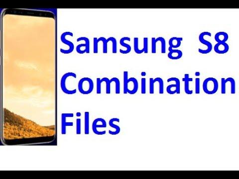 Samsung Galaxy S8 Combination Files download - смотреть онлайн на