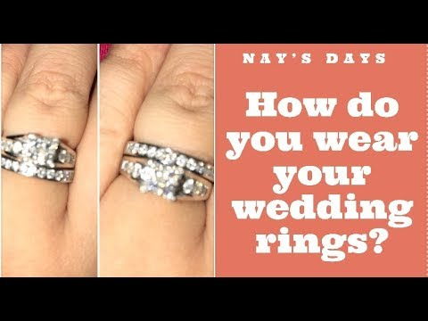 HOW DO YOU WEAR WEDDING RINGS?