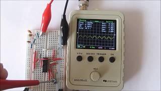 Sine Wave Generator using 4047 IC