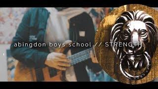 【弾いてみた】 abingdon boys school // STRENGTH. (guitar cover)