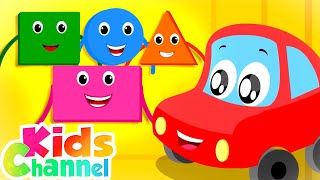 Learn Shapes | Learning Videos for Babies | Cartoons Songs  - Kids Channel