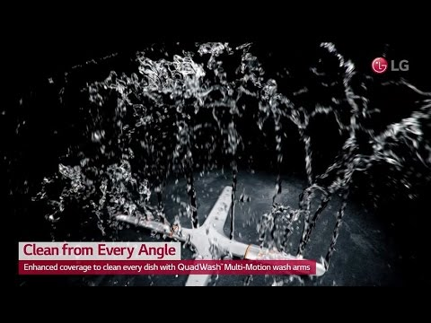 LG QUADWASH™ DISHWASHER USER SCENE VIDEO / CLEAN FROM EVERY