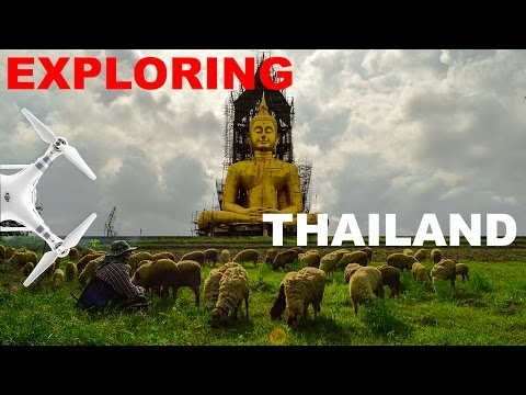 Fun Days Of Exploring Thailand - Aerial Videography - Phantom 3 Advanced