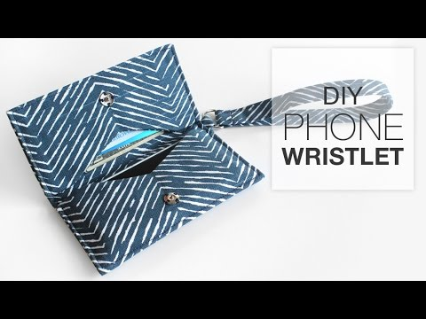 DIY Phone Wristlet