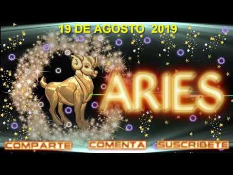1 ARIES HOROSCOPO 19 DE AGOSTO  2019