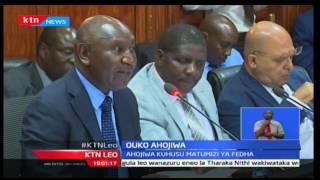 Mhasibu Mkuu Edward Ouo ahojiwa kuhusu matumizi ya fedha