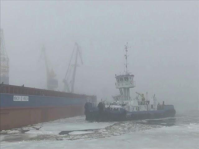 Спуск першого 100-метрового судна проекту В5000 (ССЗ НІБУЛОН)