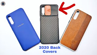New Stile Samsung Galaxy A50s & A30s Top 3 back covers ||  2020 Back cover How looking Very Soft 🔥