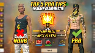 Top 10 RANKED MATCH Booyah Tips & Tricks In Free Fire Tamil | PVS GAMING |  - Grand master Tricks