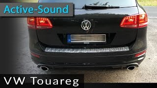 Active Sound - sportlicher Auspuff-Sound hier am VW Touareg TDI Diesel