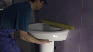 Раковина в ванной комнате установка своими руками. Обучение