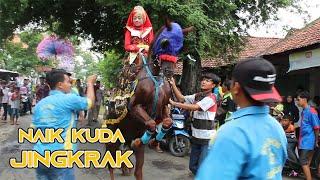 Naik Kuda Jingkrak || Arak Arakan Kuda Ketug || Naik Kuda Istimewa Keliling Desa || 1 Maret 2020