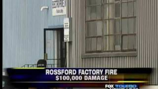 preview picture of video '$100K damage to Rossford plant'