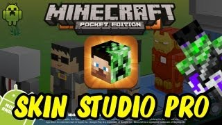 Minecraft Skin Studio Encore The Official Minecraft Skin Editor - Skins erstellen minecraft pe