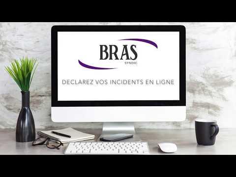 Nouveau chez Bras Syndic, déclarez vos incidents sur votre espace client
