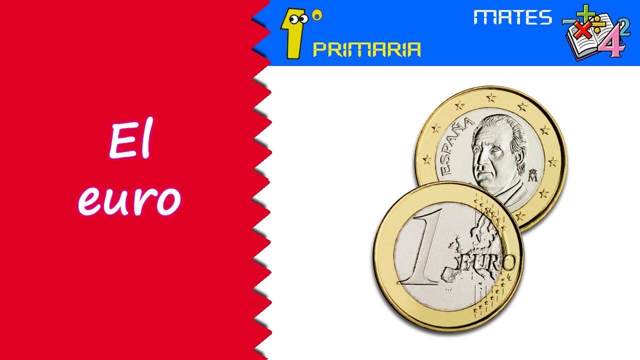Matemáticas. 1º Primaria. Tema 10: El euro