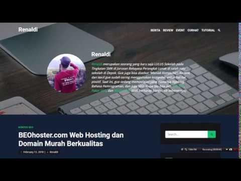 BEOhoster.com Web Hosting dan Domain Murah Berkualitas ~ Renaldi