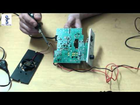 Ремонт Зарядного устройста аккумуляторов Орион PW320